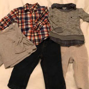 Lot of Sz 12-18 Month Boys Clothes